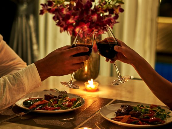 romantic date night massage